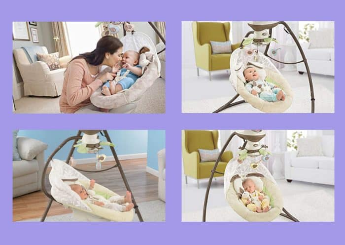 Fisher-Price My Little Snugabunny Swing