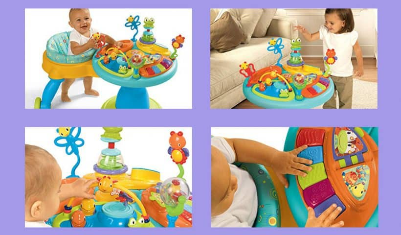 Bright Starts Around We Go Activity Center Review
