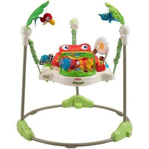 The Fisher Price Rainforest Baby Jumperoo