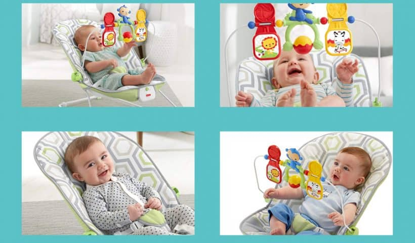 Fisher Price Bouncers – The Space Saver Bounce And Spin Froggy