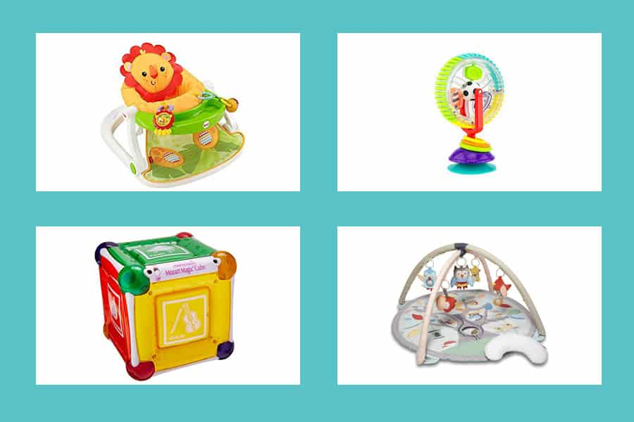 Sensory Toys For Babies - Ultimate Baby Toys