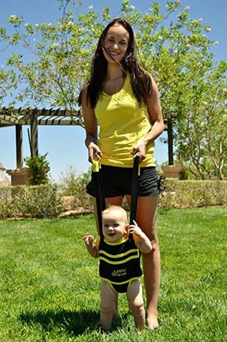 Juppy Baby Walker Momentum Yellow