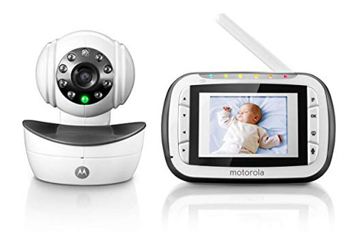 Motorola Digital Video Baby Monitor With Color LCD Screen