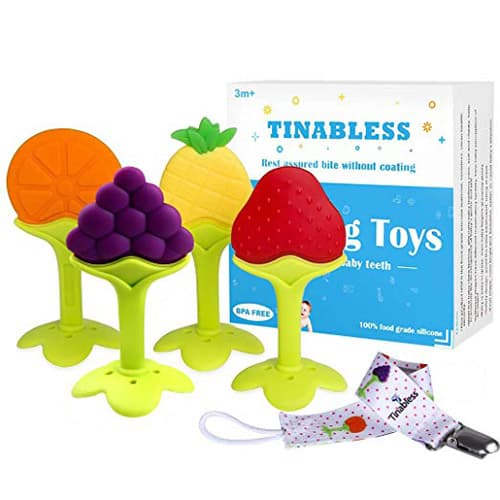 Tinabless Teething Toy Keys
